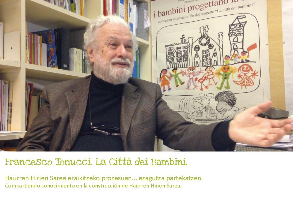 Francesco Tonucci, diciembre 2013.